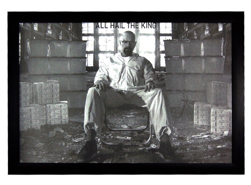 "Breaking Bad, All Hail The King Money Drug TV Show 24""x36"" F"