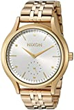 Nixon Women's 'Sala' Quartz Stainless Steel Watch, Color:Gold-Toned