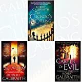 Movie cover for Cormoran Strike Series Robert Galbraith Collection 3 Books Bundle (The Cuckoos Calling, The Silkworm: 2, Career of Evil) by Robert Galbraith (2016-11-09) by Robert Galbraith