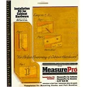 Measure Pro Installation Guide Kit For Cabinet Hardware 3