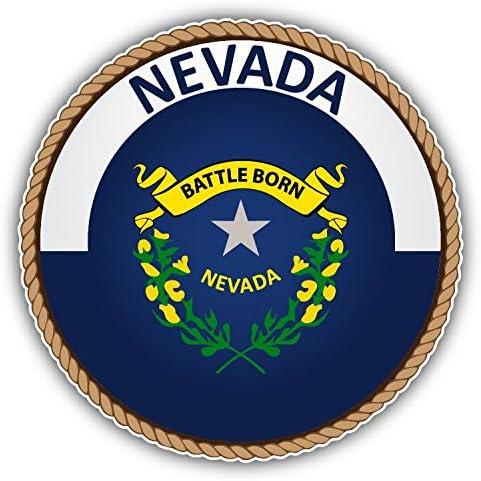Amazon Com Nevada Usa State Seal Vinyl Decal Bumper Sticker 5 X 5 Posters Prints