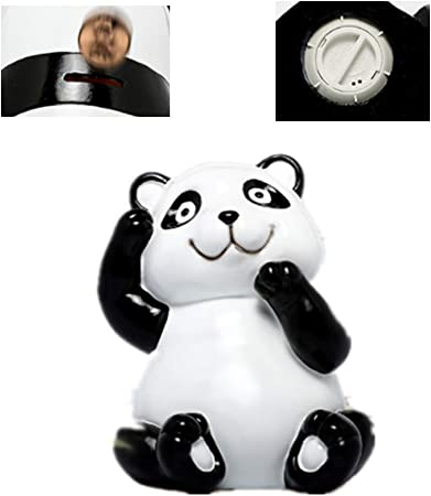 Fu Lian Cute Panda Piggy Bank For Boys And Girls Coin Bank Money Jar For Kids Best Birthday For Kids Home Decor Favorite Unique Baby Gift Ideas Black And White Amazon Co Uk Kitchen