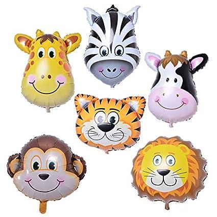 Amazon.com: Globos accesorios – 6 piezas de globo de globo ...