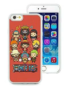 Fashion Designed One Piece 47 White iPhone 6 4.7 Inch TPU Phone Case
