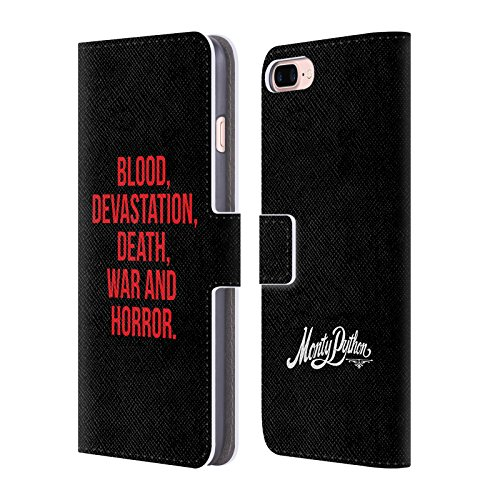 Official-Monty-Python-Blood-Devastation-Death-War-And-Horror-Key-Art-Leather-Book-Wallet-Case-Cover-For-Apple-iPhone-7-Plus