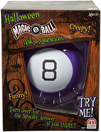 Mattel Games Halloween Magic 8 Ball -