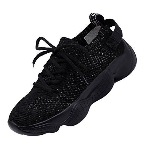 曲線暴力協定(クイブー) KUIBU レディース 超軽量 厚底 弾性メッシュ 通気 速乾 柔らか 疲れにくい アウトドア インソールスリッポン ソックス靴 スニーカー カジュアル ランニングシューズ