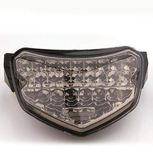 OyOCycle Motorcycle LED Tail Light for 04-05 GSXR600 GSXR750 GSXR 600 LED Tail Brake Light Rear Turn Signals Indicator Integrated Warning Signal Lights 2004 2005 ()
