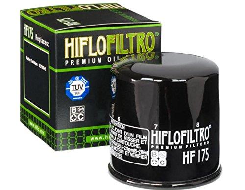 HIFLOFILTRO Oil Filter Black HF174B by Hiflofiltro