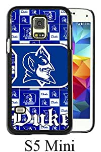 Samsung Galaxy S5 Mini case,Unique Design NCAA Atlantic Coast Conference ACC Footballl Duke Blue Devils 6 Black cell phone case for Samsung Galaxy S5 Mini