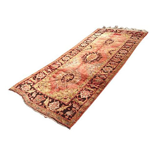 Vintage Hand Knotted Anatolian Rug