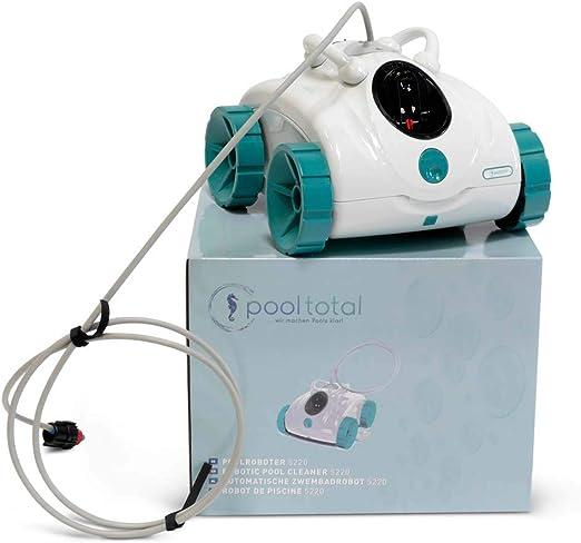 POOL Total Robot Aspirador para Piscinas 5220, Aspirador de Suelo ...
