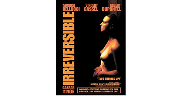 IRREVERSIBLE Movie POSTER 27x40 Monica Bellucci Vincent Cassel Albert Dupontel