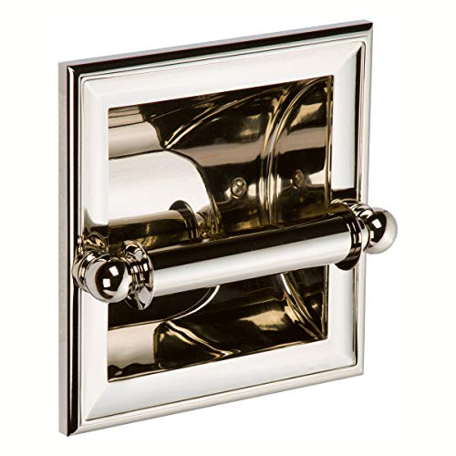 (Ginger 4528/PN Columnar Recessed Toilet Tissue Holder Polished)