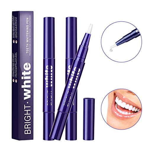 Haibinsh Teeth Whitening Pen (3 Packs), Teeth Whitening Treatments Gel Pens- Safe, Convenient, No Sensitivity, Travel-Friendly and Effective, Advance Teeth Whitening Solution
