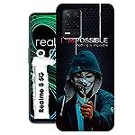 CASEARTIST Realme 8 5G Cover – Impossible Joker Villan Joker My Favorite I am Impossible Designer Printed Slim Back Case…