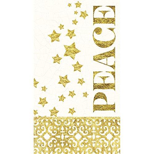 - Cypress Home Starlit Winter Paper Guest Towel