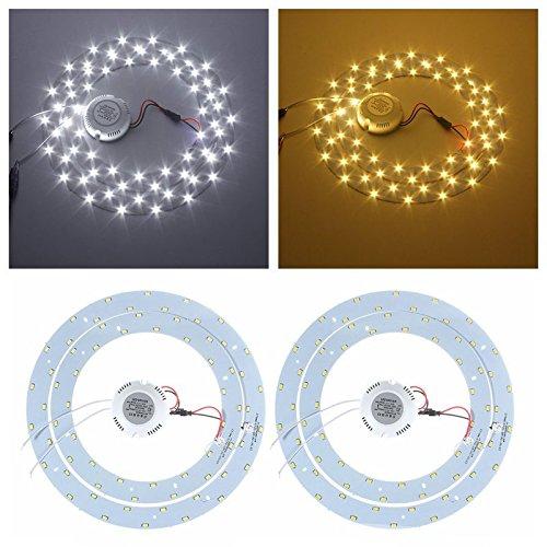 Global 33w SMD 5730 LED círculos dobles panel de techo ...
