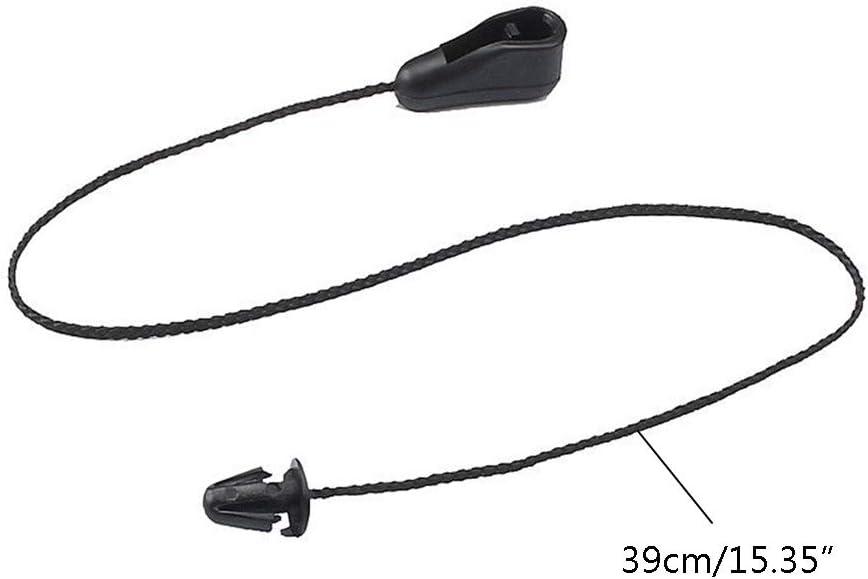 BIlinli 2Pcs Rear Trunk Storage Shelf Strap String Cord For Ford Focus MK2 2004-2011