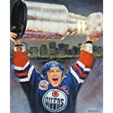 Mark Messier Lithograph - Edmonton Oilers, Ltd Ed of 1111