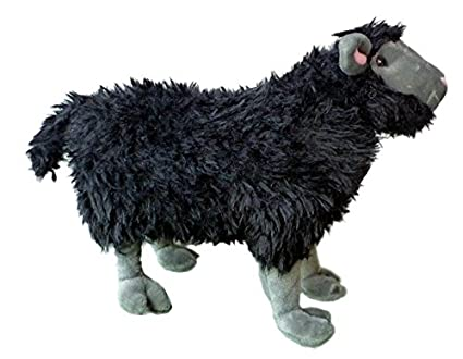 Amazon Com Adore 14 Standing Rebel The Black Sheep Stuffed Animal