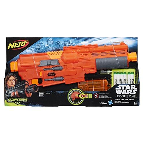 Star-Wars-Rogue-One-Lanzadardos-con-luces-y-sonidos-Jyn-Blaster-de-Lujo-6-dardos-Hasbro-B7763EU4