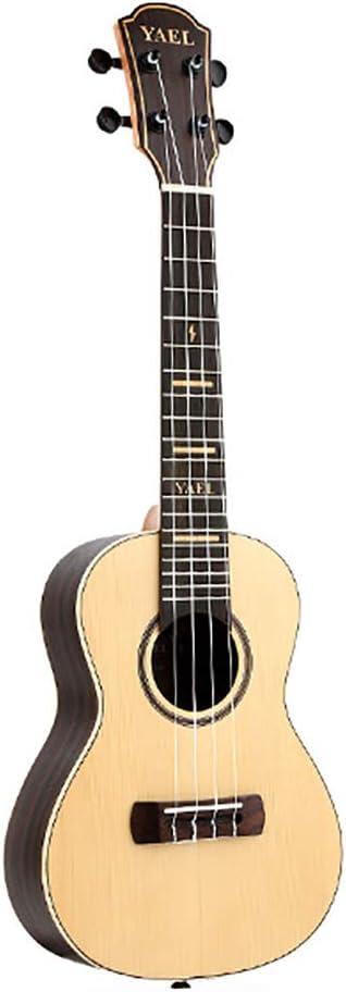 NUYI Guitarra Pequeña Ukelele Multifunción De 23 Pulgadas Chapa De ...