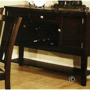 Furniture Of America CM3336SV Edgewood I Espresso Server Dining Room Buffet