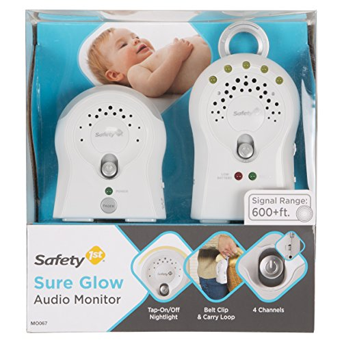 - Safety 1st Sure Glow Audio Monitor