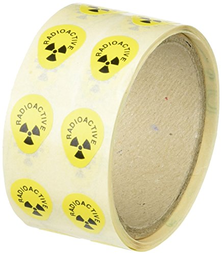 neoLab 1-9091 Warnetiketten ''Radioactive'' (250-er Pack)