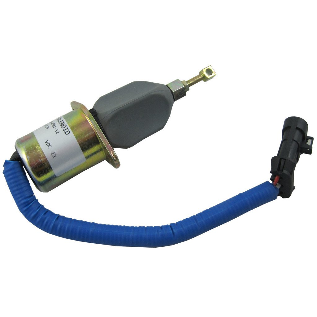Generic New Fuel Shut Off Solenoid for 94-98 5.9L Dodge Diesel Cummins With Bracket Kits 3931570 5016244AA