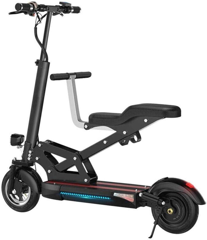 LPsweet Bicicleta Plegable Eléctrico, Chasis De Aleación De Aluminio Ligero Plegable Ciudad De Bicicletas Padre-Hijo De Coches Vespa Pequeña Carconvenient Batería Y La Conmutación Rápida,50KM: Amazon.es: Deportes y aire libre