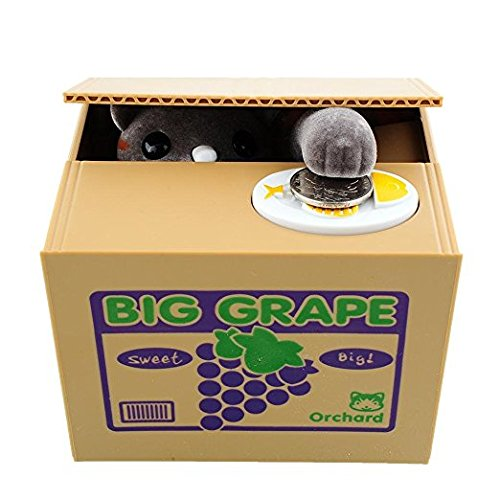 Imcolorful Cute Stealing Coin Grape Box Automatic Stealing M