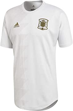 adidas España SSP 2017-2018, Camiseta, White, Talla S: Amazon.es: Deportes y aire libre