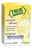 True Lemon Lemonade Drink Mix, 1.06 ounce, 10-count (Pack of 6)