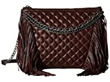 ASH Women's Bijou Clutch Dark Wine Cross Body