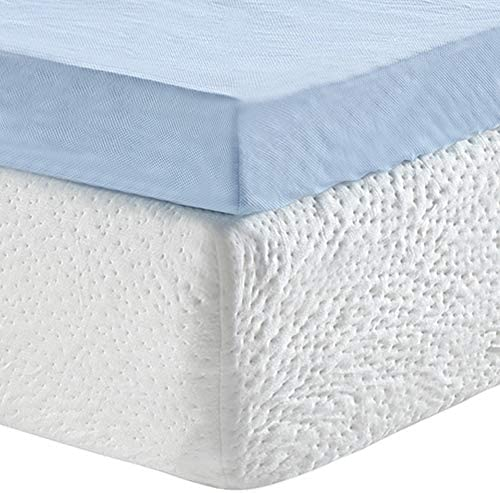 home, kitchen, bedding, mattress pads, toppers,  mattress toppers 10 discount Classic Brands 3-Inch Cool Cloud Gel Memory deals