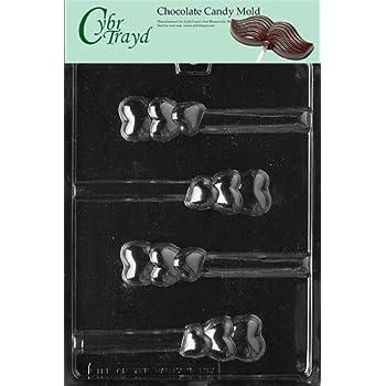 Amazon Com Cybrtrayd V137 Triple Heart Pretzel Valentine Chocolate