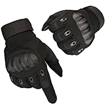 Tactical Hard Knuckle Full Finger Outdoor Sport Shooting Hunting Biking Riding Motorcycle Gloves
