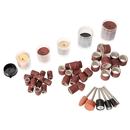 205pcs Rotary Tool Accessories Sanding Drum Kit for Dremel Power Tool