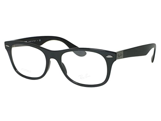 6954c1df8f Image Unavailable. Image not available for. Color  Ray Ban RX7032 RB7032  Liteforce new wayfarer 5206 Shiny Black Eyeglasses 52mm