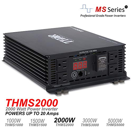 THOR Manufacturing THMS2000 2000W Power Inverter with