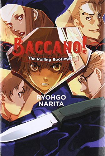 Lucky Bootleg - Baccano!, Vol. 1: The Rolling Bootlegs - light novel