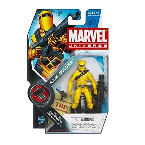 3 3/4 Figures Accessories - Hasbro Marvel Universe Series 8 A.I.M. Soldier Action Figure #16