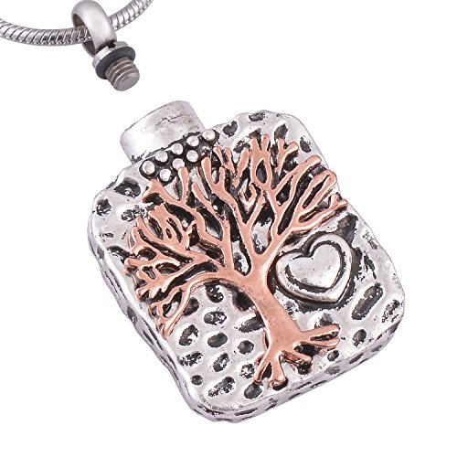 Eternally Loved Cremation Memorial Necklace product image
