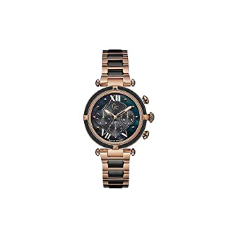 aab9a5f27 Buy Guess Womens Chronograph Metallic Watch - Y16013L2_Multi-Colour_Free  Size Online at Low Prices in India - Amazon.in