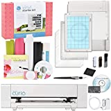 Silhouette America Curio Crafting Machine with Silhouette Starter Vinyl Kit Bundle