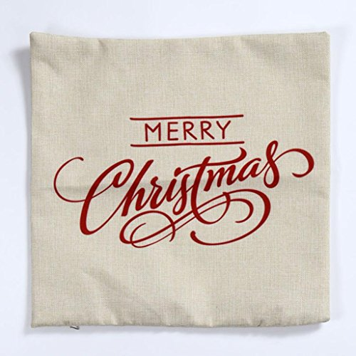 Sankuwen home decoration christmas pillow cushion cover for Sofa cushion covers dubai