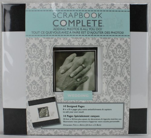 Wedding Scrapbook Complete - Adding Photos is All You Do (Tapestry Gibson Album Cr)