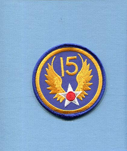 Embroidered Patch-Patches for Women Man- 15th AIR Force WW2 US AAC Army AIR Corps USAF - Patches Wwii Army